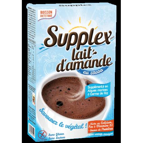 Supplex Lait d'Amande Cacao SANS GLUTEN - SANS LAIT