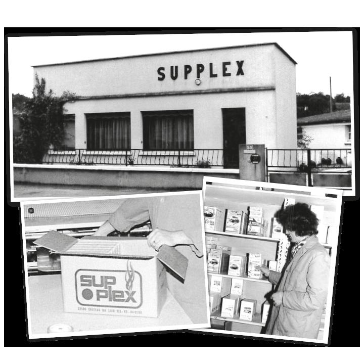 Supplex dans les années 60
