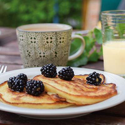 Pancakes au Supplex Lait d'Amande