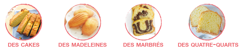 Utilisation Mix Cakes SUPPLEX SANS GLUTEN SANS LACTOSE