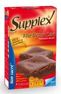 supplex moelleux cacao maigre non sucré
