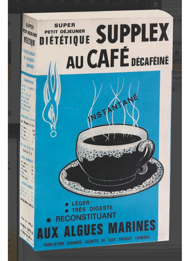 Supplex Café Années 60